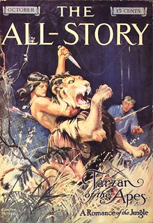 The All-Story: Tarzan of the Apes