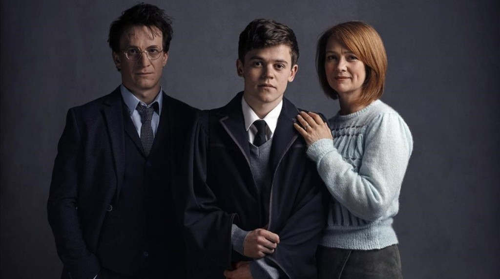 ICULT HARRY  ALBUS Y GINNY POTTER