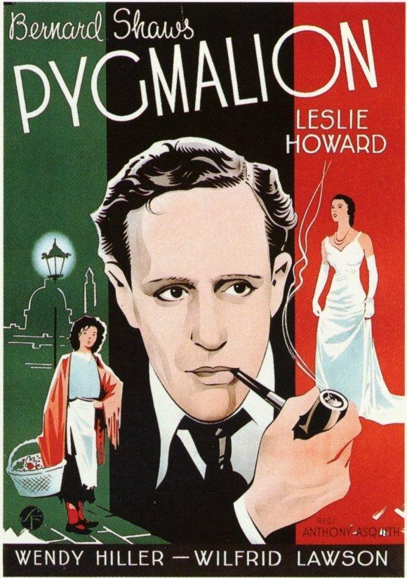 Pigmalión,  Anthony Asquith, Leslie Howard